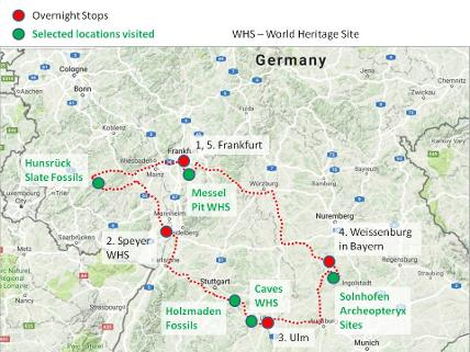 Germany geology holiday