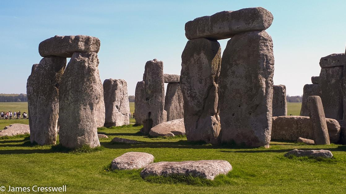 A photograph of Stonehenge on GeoWorld Travel's geology of southern Britain tour