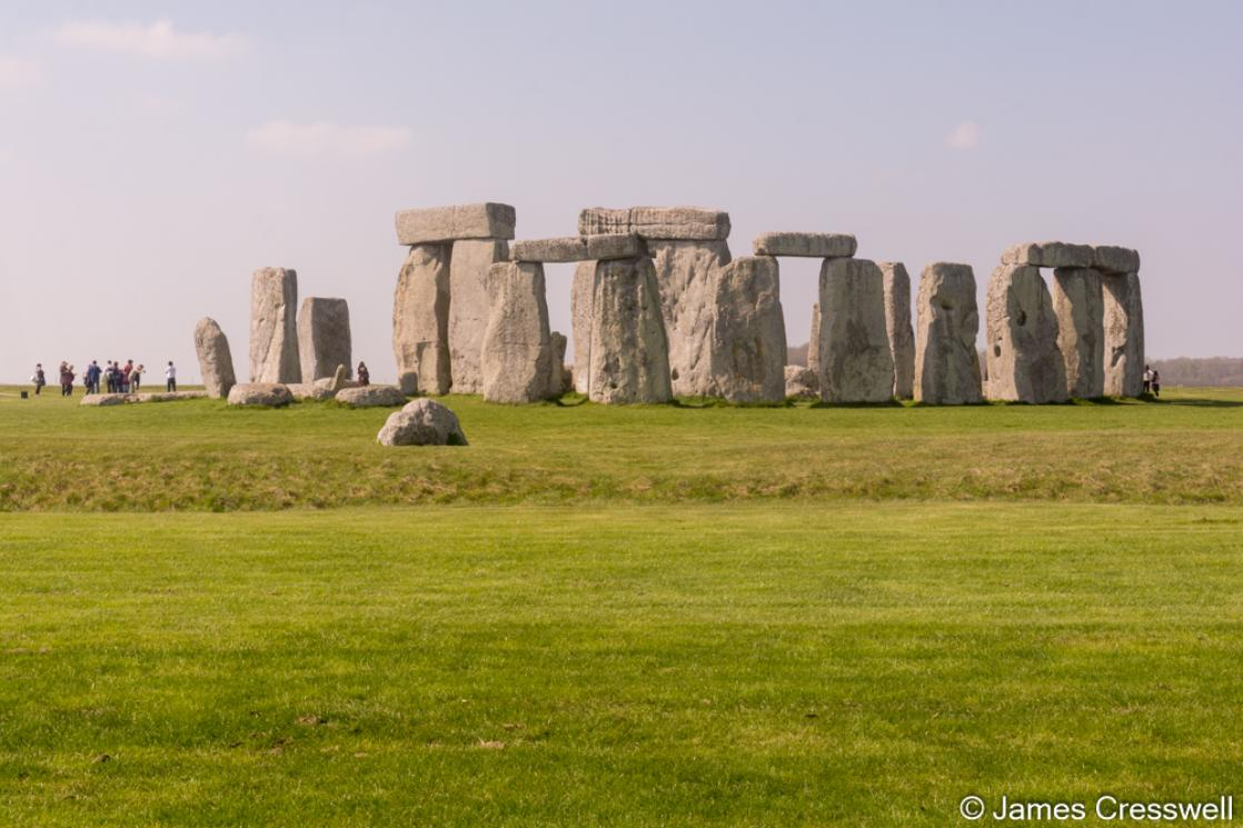 A photograph of Stonehenge, taken on the GeoWorld Travel England and Wales geology trip, tour and holiday