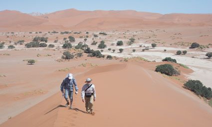 Geology tours that visit sand dunes
