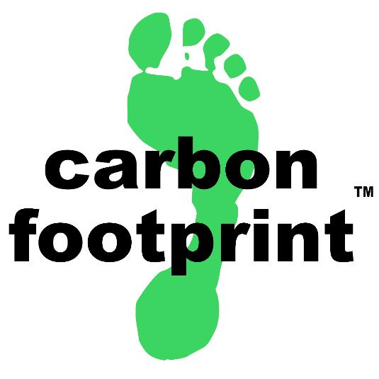 The logo of Carbon Footprint