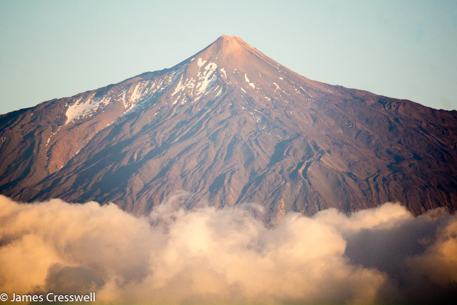 A photograph Teide volcano taken on a GeoWorld Travel Canary Islands geology trip, tour and holiday
