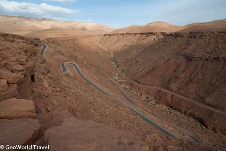 Crossing the Atlas Mountains. Morocco geology holiday