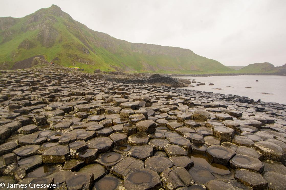 A photograph of the Giant's Causeway, taken on a GeoWorld Travel Ireland geology trip, tour and holiday