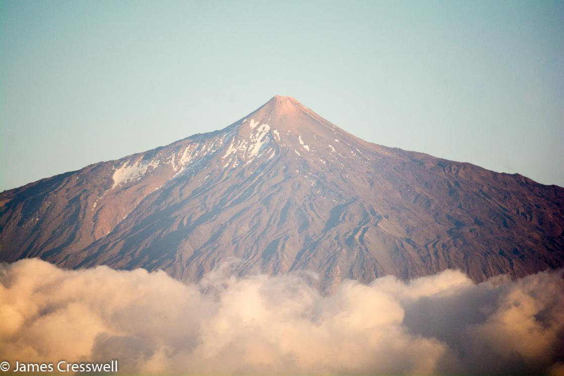 A photograph of Teide volcano on Tenerife, taken on a GeoWorld Travel volcano trip, tour and holiday